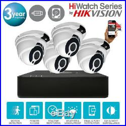 Hikvision Hiwatch Dvr 4ch 8ch 16ch Cctv System Dome Nightvision Camera Full Kits