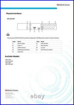 Hikvision Ip Poe Cctv System 8ch Nvr Bullet Camera Varifocal Motorised Kit 1tb