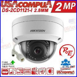 Hikvision Security System NVR KIT 8CH Channel 4K 2MP Dome POE Camera (ORIGINAL)