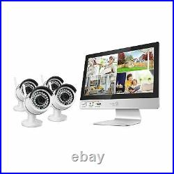 HomeGuard All-in-One Wireless HD CCTV Kit 4 Channel + 4 Cameras + 1TB