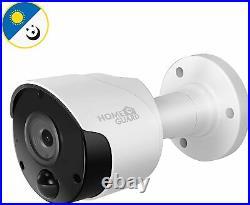 HomeGuard Heat-Sensing HD CCTV Kit 8 Channel DVR + 4 Cameras + 1TB HDD