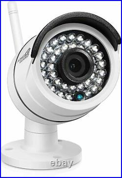 HomeGuard Wireless HD CCTV Kit 8 Channel NVR + 4 Cameras