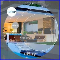 Home CCTV HD 2.4MP 1080P Nigh Vision Surveillance Security Cameras System Kit