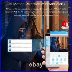KKmoon 4CH 1080P WiFi NVR 42.0MP Waterproof IP Camera CCTV Kit APP Control B7R3