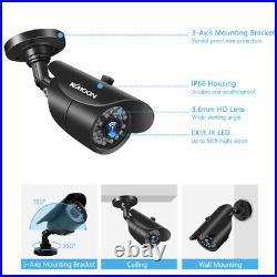 KKmoon 8CH 1080P DVR 4pcs 1080P Waterproof CCTV Security Camera 1TB HDD CCTV Kit