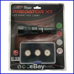 LED Hunting Light Kit 500+ Yds Varmint & Hog Green Red IR night vision White