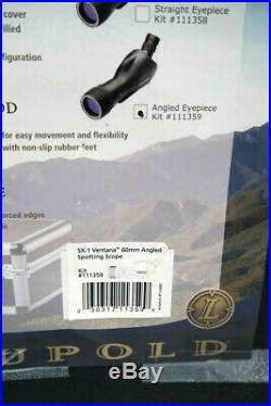 Leupold SX-1 Ventana 15-45x60mm Angled Spotting Scope Kit