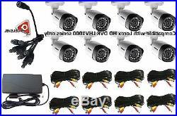 Lorex 720P 1MP up to 130Ft NV IP66 8PK Bullet Camera LBV1521 8X HD CAMERA KIT