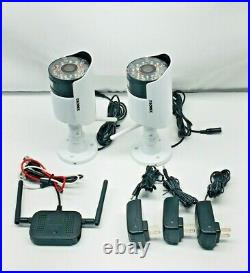 Lorex MC2232 Wireless MPEG4 Security Night Vision Up 135FT Camera Kit (2 pack)