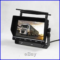 Lorry Van Wireless Reversing Camera System Kit DVR Night Vision 12-24V Safety