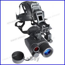 Master Night Vision Goggle Head Mount Kit Monocular Security IR Tracker Gen