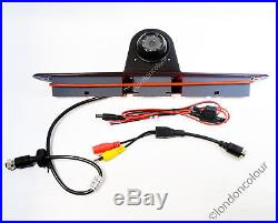 Mercedes Sprinter Brake Light IR Rear View Reversing Camera 7 inch Monitor Kit