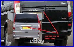 Mercedes vito viano mirror monitor rea reversing camera kit 5 inch monitor
