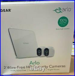 NETGEAR Arlo Smart Home 2 HD Security Camera Kit 100% Wire-Free Night Vision