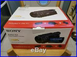 NEW Sony FDR-AX53 Kit Ultra HD 4K Compact Camcorder + x2 Batteries + Bag