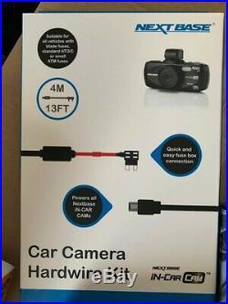 NEXTBASE 512G HD Car Dashboard Video Camera (NBDVR512G) & case, hardwire kit, 8gsd