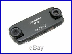 NEXTBASE DUO DASH CAM GPS 720p HD VIDEO RECORDER SET FRONT REAR TWIN CAMERA KIT
