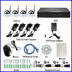 NVR Kit 4CH H. 265 2MP wireless system indoor video security camera night vision