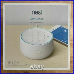 Nest Secure Alarm System Bundle Kit w Cam Indoor, 2x KeyTags, 2x Window Detect