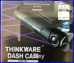 New Thinkware F800 PRO Front and rear camera with hardwire kit