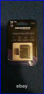 Nextbase 622GW Dashcam with Rear Camera, Hardwire Kit and 128GB Micro SD Card