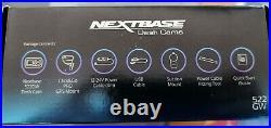 Nextbase Front & Rear Dash Cams, Hardwire Kit, Case & 128GB Sd card bundle (NEW)