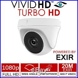 Night Pro CCTV SYSTEM HDMI DVR DOME NIGHT VISION OUTDOOR CAMERA FULL KIT 1TB HDD