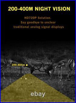 Night Vision Scope Camera Add On & HD Video Recording, Laser IR & Mounts NEW