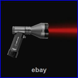 Night saber Alpha hand held pistol lamp Ultimate long distance lamping RED WHITE