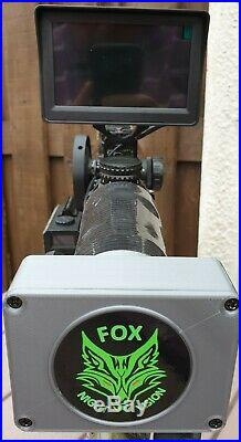 Night vision add-on kit, one wire plug and go + built in battery
