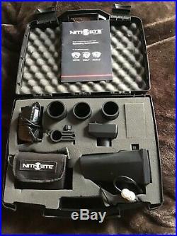 NiteSite Eagle Night Vision Kit Used 4 times great add on