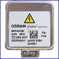 OSRAM D3S 66340CBI Xenarc CoolBlue Intense Xenon Scheinwerfer Lampe NEU DD