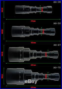 Opticfire AG-VI 3 LED High power deluxe hunting torch light lamp lamping kit