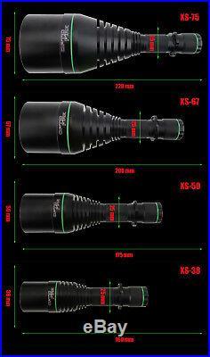 Opticfire XS 4 LED Scope mount gun light hunting torch lamping lamp supreme kit