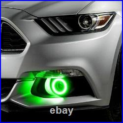 Oracle Dynamic ColorSHIFT RGB+A Halo Fog Light Kit For 2015-2017 Ford Mustang