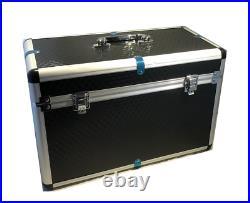 Professional Lamping Kit Aluminium Case 100w Lamp 150mm Lens Battery Torch Light