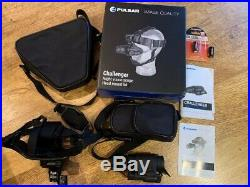 Pulsar Challenger GS 1x20 NVG Night Vision Scope Head Mount Kit