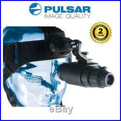 Pulsar Challenger GS 1x20 Night Vision Scope with Head Mount Kit 74095 (UK)