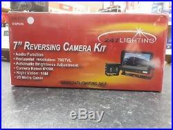 Reversing Camera Kit 7 (Camera Rated IP69) Tractor/HGV/Bus