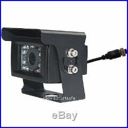 Reversing Camera Kit Rear View Revese System 7 LCD For Forklift Loader Backhoes