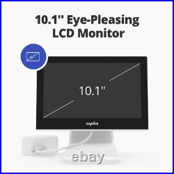 SANNCE 5IN1 10.1LCD Monitor 4CH DVR 3000TVL CCTV Camera Home Security Kit IP66
