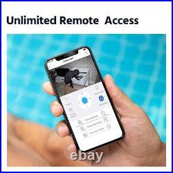 SANNCE Wireless Wifi 3MP CCTV Kit 8CH 5MP NVR Home Security IP Audio Camera Kit