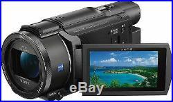 SONY FDR-AX53 4K Ultra HD Camcorder Kit Black-Brand New