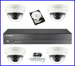 Samsung Full HD 1080P Outdoor Weatherproof CCTV Home Shop Security System Kit