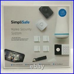 SimpliSafe Home Security Kit 10-Piece Alexa/Google Compatible Night Vision