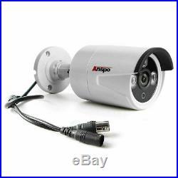 Smart 1TB/2TB 3000TVL 4 Channel 1080P HD CCTV DVR Video Recorder Outdoor Cameras