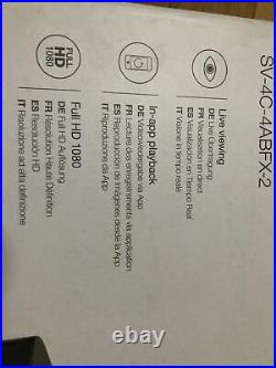 Smart Home CCTV XL Kit CV-4C-4ABFX-2 Brand New