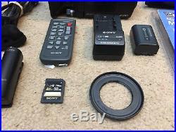 Sony HDR-PJ650V Mini ENG Filmmaker Documentary Production Kit