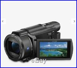 Sony Handycam Fdr-ax53 Ultra HD 4k Camcorder Camera Fdrax53 With Full Kit