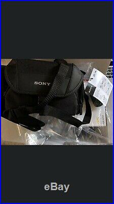 Sony Handycam Fdr-ax53 Ultra HD 4k Camcorder Fdrax53 Kit With 2x Battery & Case